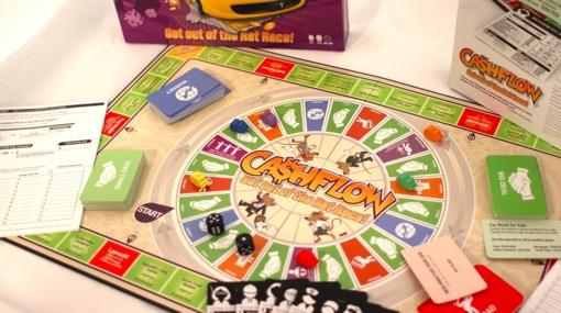 Cashflow 101 en espa ol juego de mesa creado por robert for Juego de mesa cash flow